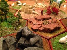 """Pinner says, """"Fellow Settlers of Catan, I bring you our custom game board!"""""""