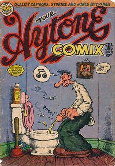Robert Crumb. Hytone comix cover