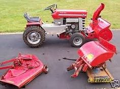 Massey Ferguson Garden Tractor Pics