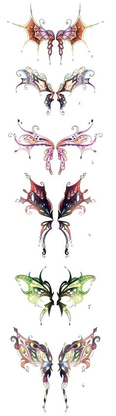 Adoptable Wings* by Springscent on DeviantArt Anime Weapons, Fantasy Weapons, Super Manga, Wings Drawing, Butterfly Art, Butterfly Makeup, Wings Design, Anime Eyes, Art Graphique