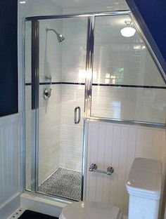 Not sure if this is the style shower we want, but I saved this photo to show it is possible.