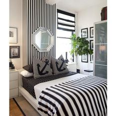 This is more of a sophisticated nautical themed bedroom I think... xXx