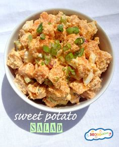 Sweet Potato Salad Recipe Kids will Love :: via our affiliate partner, MOMables