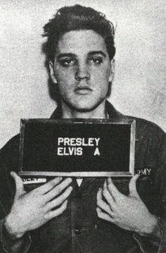 Army photo of Elvis