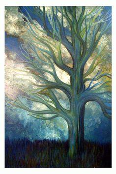 Brisk by Monica Furlow #tree #art