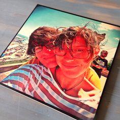 Stampa su legno 30x30 su www.legnogram.com