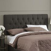 Found it at Wayfair - Micro-Suede Tufted Headboard