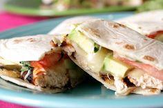 Chicken, Avocado and Tomato Quesadillas…