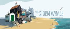 The Book Sniffer: The Storm Whale by Mr Benji Davies.