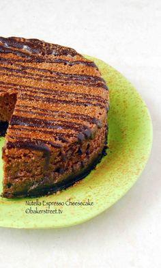 Nutella Espresso Cheesecake