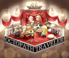 Bravely Default, Octopath Traveler, Geek Humor, Video Games, Corner, Fan Art, Discord, Random, Nintendo