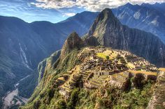 Machu Picchu - Nikita visited it in 2008 and her life was forever changed.