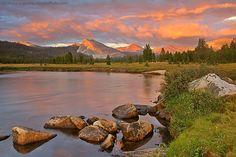 Meadows   ... Logvinov Photography - Tuolumne Meadows - Tuolumne Meadows, sunset