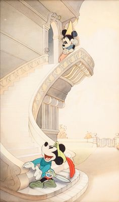 Brave Little Tailor/Music Land Mickey Mouse and Minnie Mouse Production Cel and Background Setup (Walt Disney, Mickey Mouse Wallpaper Iphone, Cute Disney Wallpaper, Trendy Wallpaper, Wallpaper Telephone, Vintage Disney Princess, Wedding Couple Cartoon, Music Land, Image Princesse Disney, Disney Background