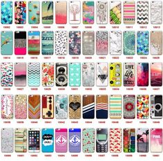 New Pattern Soft TPU Case Cover For iPhone 5 5S 5C SE Iphone 6 6S plus