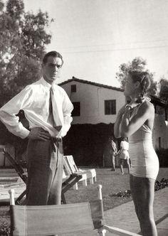 Gene Tierney & Howard Hughes