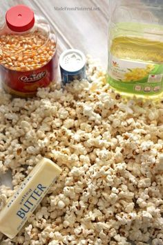 Popcorn Secret That No One is Telling You The real secret to perfect homemade popcorn that no one is telling you.until now.The real secret to perfect homemade popcorn that no one is telling you.until now. Yummy Snacks, Healthy Snacks, Yummy Food, Healthy Recipes, Appetizer Recipes, Snack Recipes, Cooking Recipes, Appetizers, Homemade Popcorn Recipes