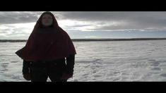 "Sámi artist Berit Margrethe Oskal singing/yoiking ""Eamifámut"" (English: ""Ancient Forces"").   Music video by Niels Ovllá Dunfjell."