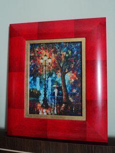 Luces en la noche, Leonid Afremov, 25/20cm, 69 colores