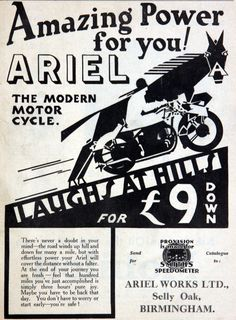 The modern motorcycle