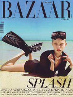 Harper´s Bazaar España - Julio 2010.  Tanya Dziahileva.