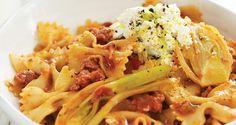 Pasta with Sausage, Fennel & Ricotta - Filippo Berio