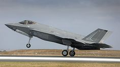Royal Australian Air Force's first two Lockheed Martin F-35A Lightning II Joint Strike Fighters have made their official debut on Australian soil, landing at the Australian International Airshow at Avalon on Friday morning. F-35As A35-001 and A35-002 touched down at approximately 1140am on Friday, flying in from RAAF Base Amberley where they had landed on Monday after their trans-Pacific ferry flight.