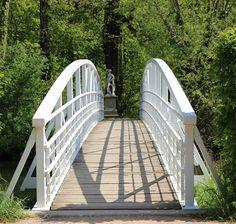 Weisse Brücke #park #thisisleipzig #schlosspark #lützschena #green #nature Parks, Germany Travel, Deck, Stairs, City, Outdoor Decor, Instagram, Leipzig, Learning To Drive