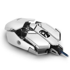 Amazon.com: 4800 DPI Wired Gaming Mouse, Optical USB Game Mice Ergonomic Design with Programmable 10 Buttons & Aluminium Base for PC MAC: Computers & Accessories