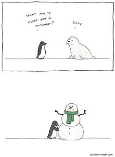 When she's got time off from The Simpsons, Liz Climo turns out the most adorable comic drawings ever. Take a look at these comics. Funny Shit, Funny Cute, The Funny, Hilarious, Funny Stuff, Simpsons Artist, The Simpsons, Funny Animal Comics, Funny Animals
