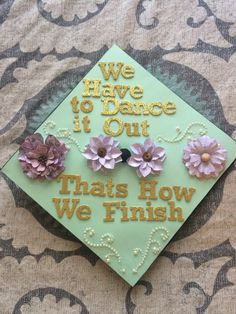 When your cap is inspired by Christina and Meredith. TSM.