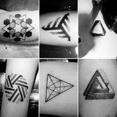 Pequeños Tatuajes hechos por Leon Rojo