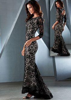 Elegant Long Lace Dresses