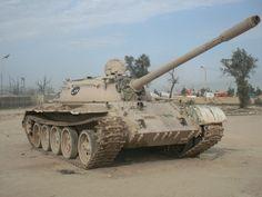 Abandoned tank in Iraq