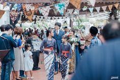 DIY Rustic Indonesian Wedding