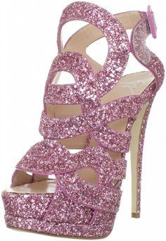 Giuseppe Zanotti Women's Platform Sandal-Barbie Jimmy Choo, Giuseppe Zanotti, Cute Shoes, Me Too Shoes, Awesome Shoes, Everything Pink, Pink Shoes, Women's Shoes, Sexy Heels