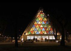 Shigeru Ban, catedral temporal de cartón, Nueva Zelanda