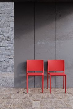 Polypropylene and mild steel combine to present modern sophistication, pure lines and a sturdy, stackable chair in ultra-fresh colours. The 120 chair was inspired by a triangle's inherent strength. Look for the chair's unique feature of three 120° angles, adjacent to each other, forming the joint between the front leg and the chair seat. Sustainable Furniture, Stackable Chairs, Group Of Companies, Artsy Fartsy, Angles, Triangle, Strength, Colours, Fresh