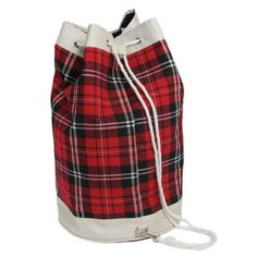 Duffle bags - we all had one. All one needed for a stay-over could fit inside one of these. How times have changed.