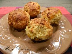 bacon-cheddar corn muffins..