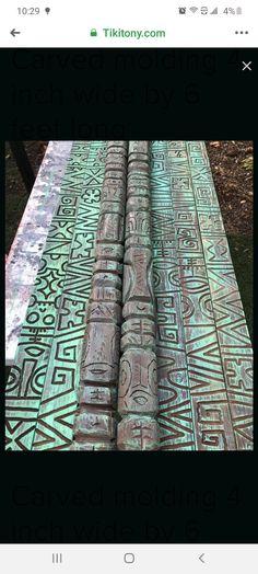 Tiki Lounge, Bar Lounge, Tiki Art, Tiki Tiki, Tropical Outdoor Decor, Tiki Head, Patina Paint, Tiki Bar Decor, Polynesian Art