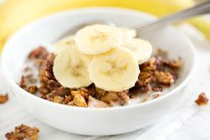 A healthy vegan and paleo granola recipe that is totally sweetened with fruit and has pecans walnut, pecans, pumpkin seeds, sunflower seeds and coconut.