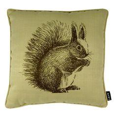 Lava Bushy Tail Squirrel Indoor/Outdoor Pillow - 54666.998