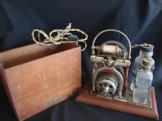 Old Antique Mortician Embalming Pump  Engine Machine