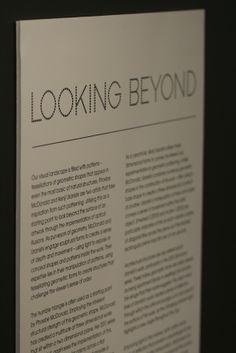 Looking Beyond exhibition featuring works by Phoebe McDonald and Kenji Uranishi