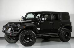2013 Jeep Wrangler Unlimited Lifted Conversion