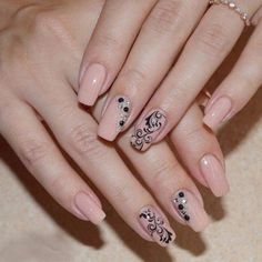 and Beautiful Nail Art Designs Beautiful Nail Art, Gorgeous Nails, Pretty Nails, Nail Art Design Gallery, Best Nail Art Designs, Beige Nails, Pink Nails, Trendy Nail Art, Cool Nail Art
