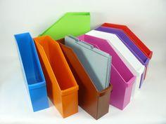 Vertical Scrapbook Paper File Set of 6