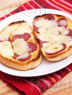 Sandwiches with Bulgarian lukanka and kashkaval/Сандвичи с луканка и кашкавал #sandwich