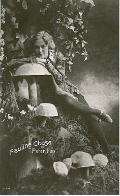 Pauline Chase with mushrooms | Flickr - Photo Sharing!